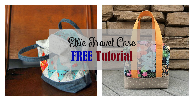 The Ellie Travel Case FREE Tutorial was published in Fabric Mutt.  This case makes a perfect cosmetics or toiletries bag and doubles as a cute little purse for a night out. The final size of this bag is 7.5″ square, … Read More