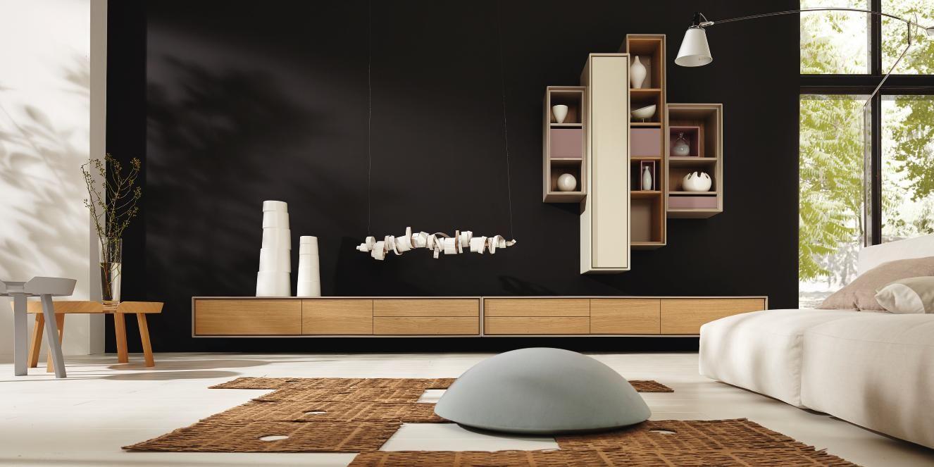 Meuble Tv Blanc Suspendu Alinea Magasin De Mobilier Design Haut  # Meuble Etagere Tv Design Haut De Gamme Media