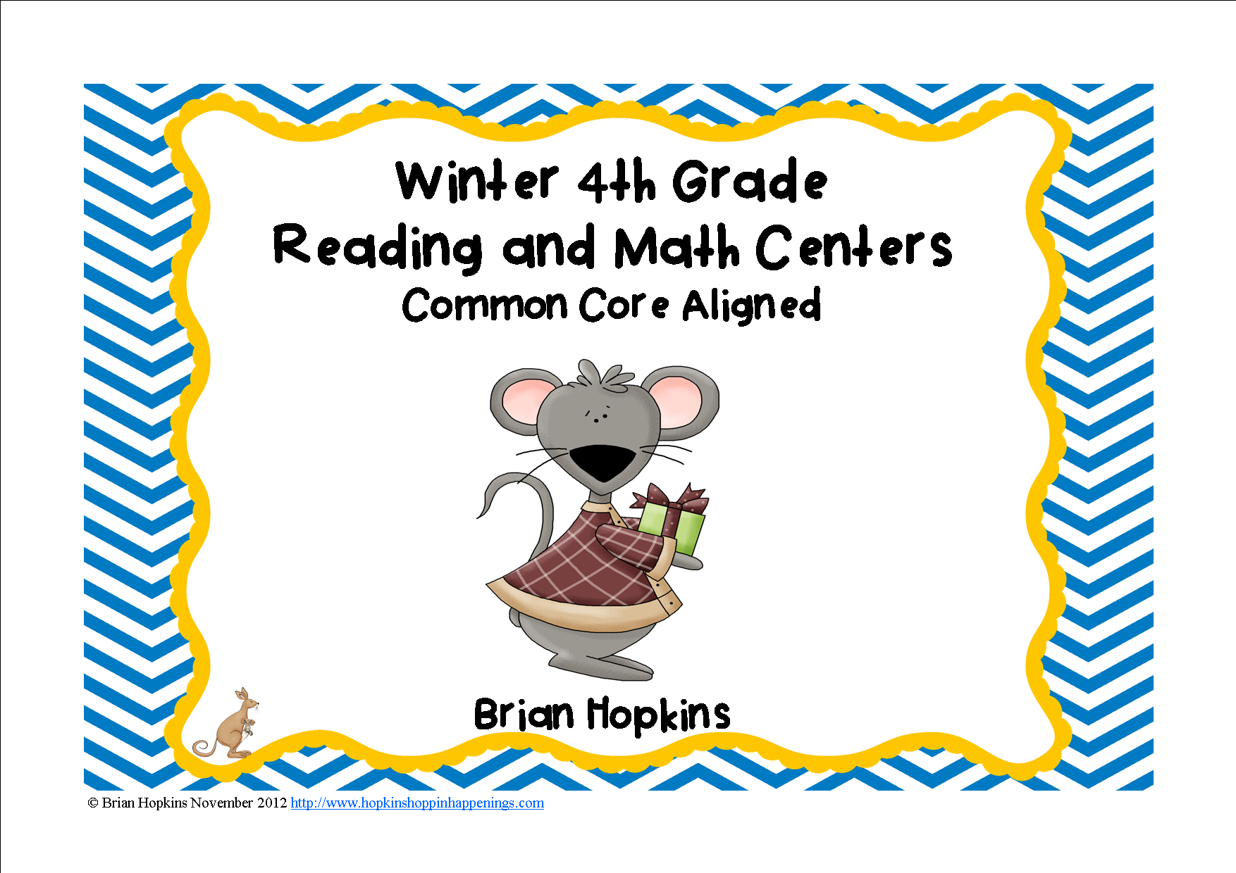 Winter Themed Common Core 4th Grade Reading And Math