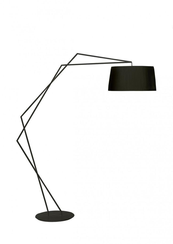 modern standing lamp. Minimalist House // Okha Black Modern Table Lamp Standing Y