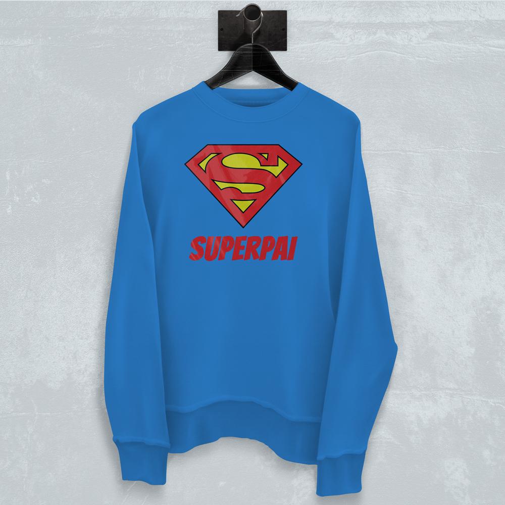 Superpai! 😍 Compra em https://goo.gl/IE7PKF #zizimut #funnytshirts #tshirts #hoodies #sweatshirt #giftshops #personalizedgifts #personalizadas #porto🇵🇹 #tshirtshop #dad #fathersday #father #pai #diadopai #gift #presente #superpai #superhomem #superdad #superman