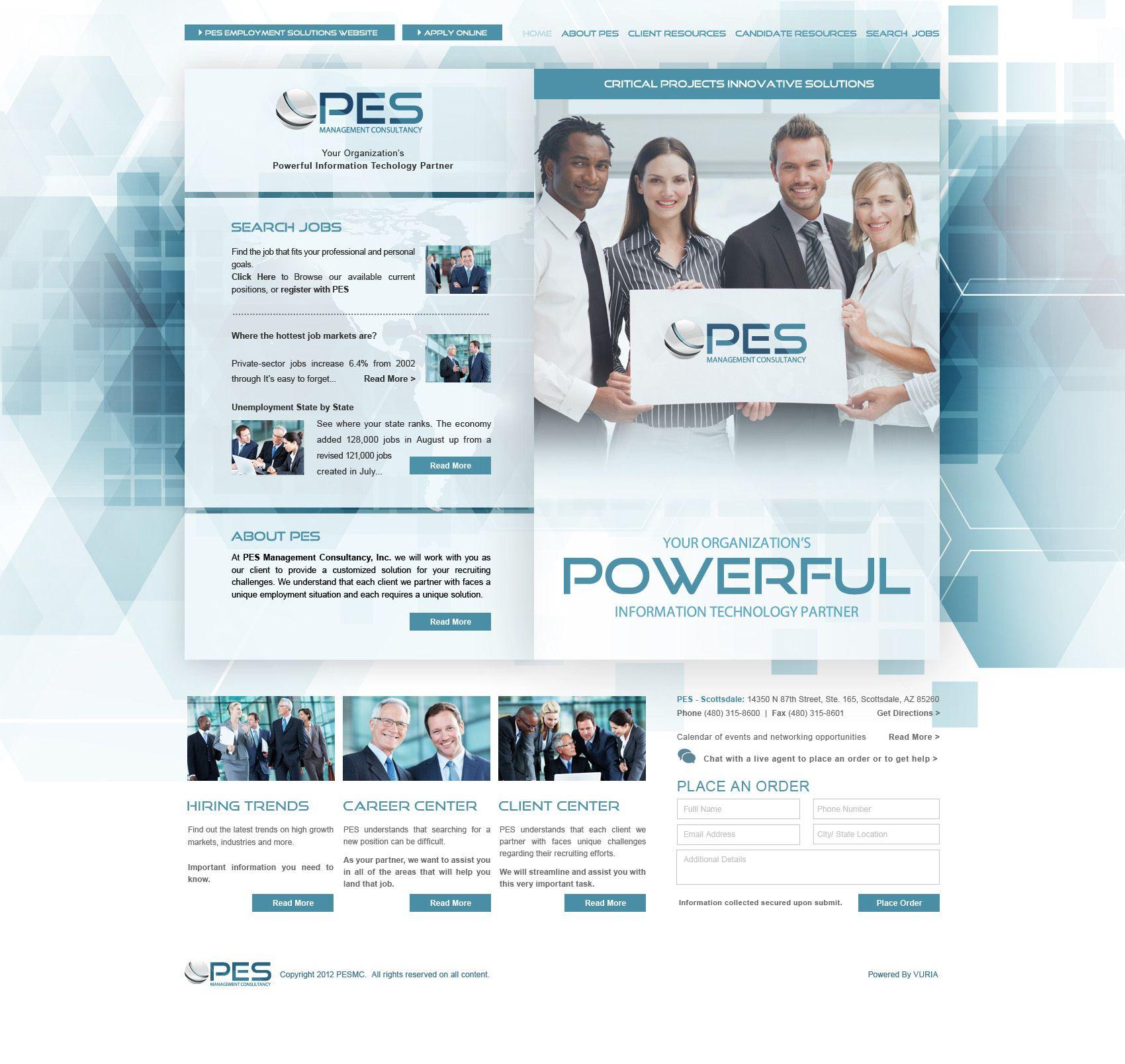 Pes Management Consultancy Website Designed By Vuria Creative Technology Http Www Vuria Com View The Li With Images Website Design Web Development Design Web Design