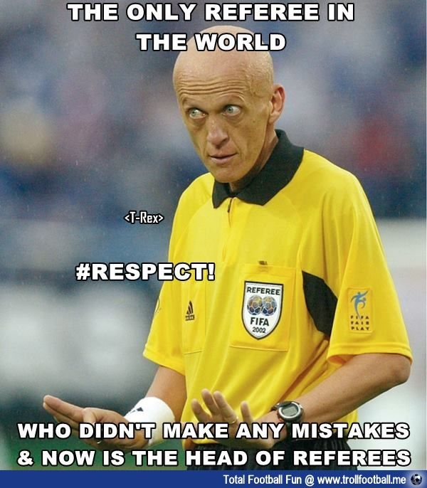 Collina Most Respected Referee In The World Soccer Referee Soccer Referee