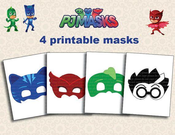 photograph regarding Pj Mask Printable Template identify Pin upon kid