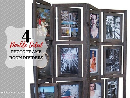 Double Sided Photo Frame Room Divider