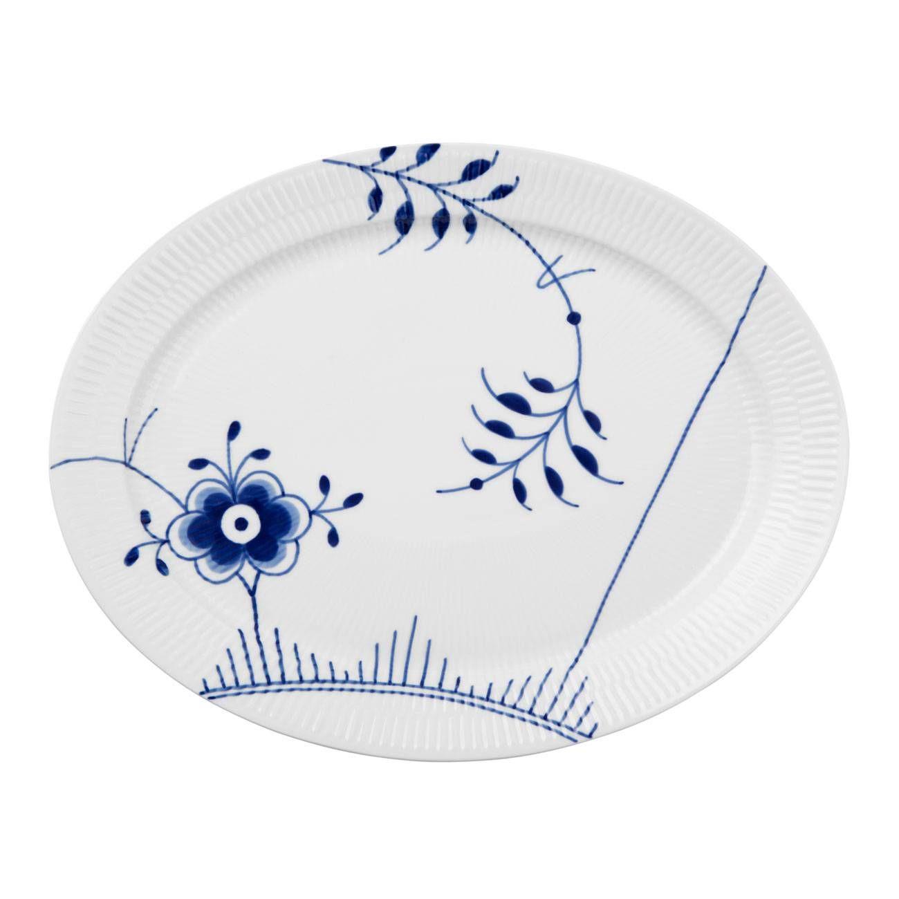 Royal Copenhagen Blue Fluted Mega Oval Platter #2 In 2019