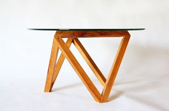 Tre Coffee Table Glass Top Mesa De Centro De Vidrio Mesas De