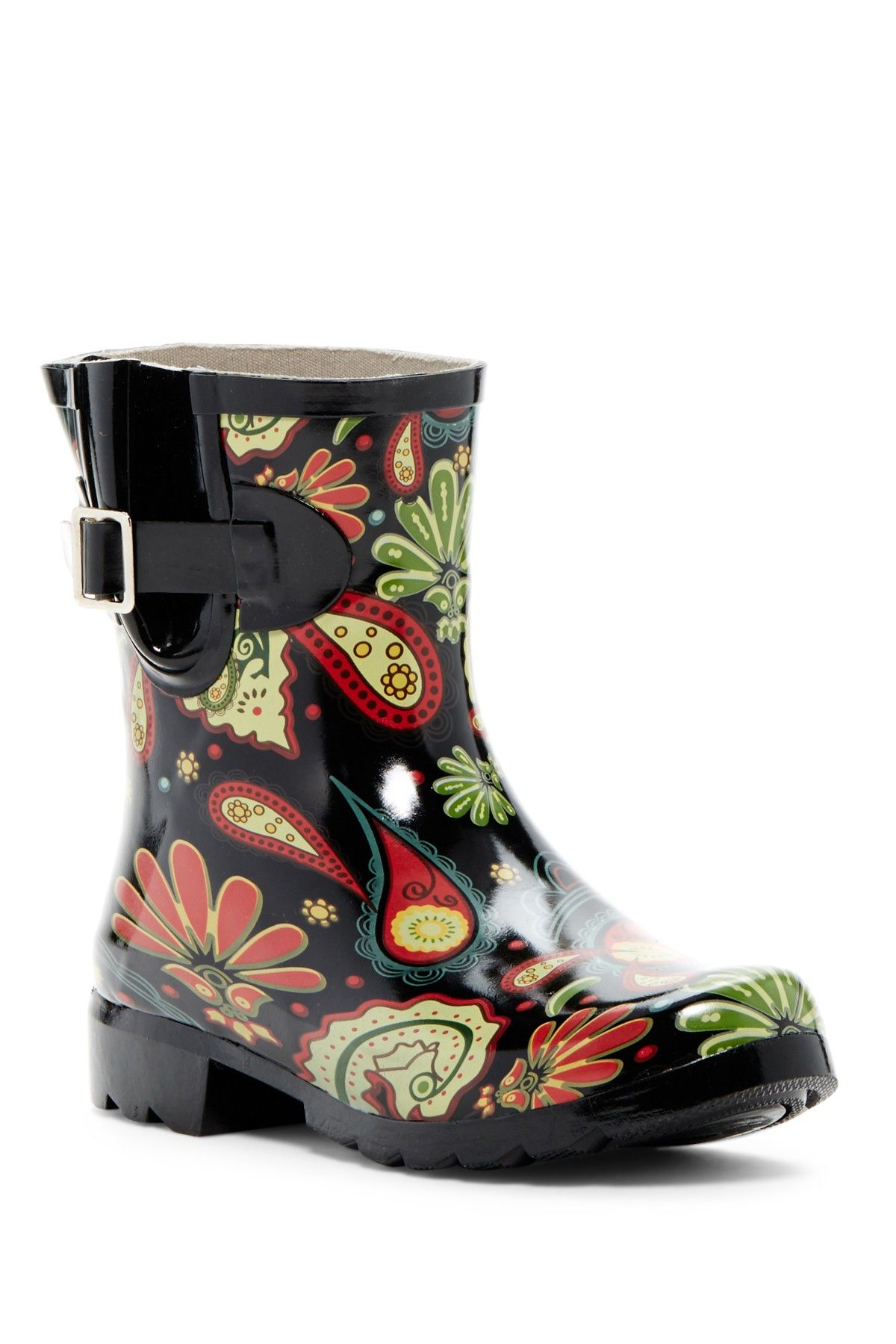 Patterned Rain Boots Magnificent Decorating