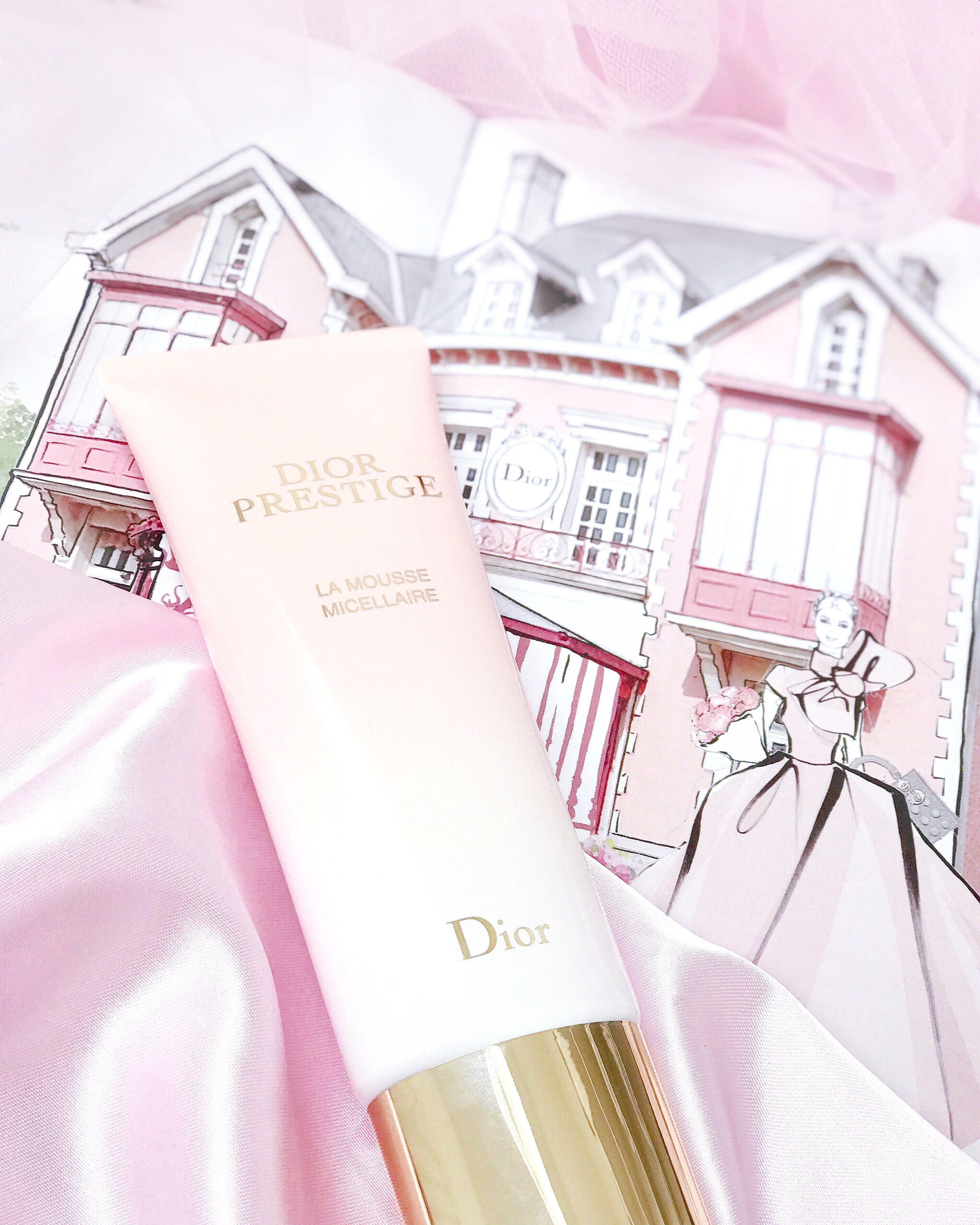 Oh So Heavenly Rose Petal Skin New Dior Prestige La Mousse Micellaire Dior Cosmetics Dior Skincare Rose Skincare