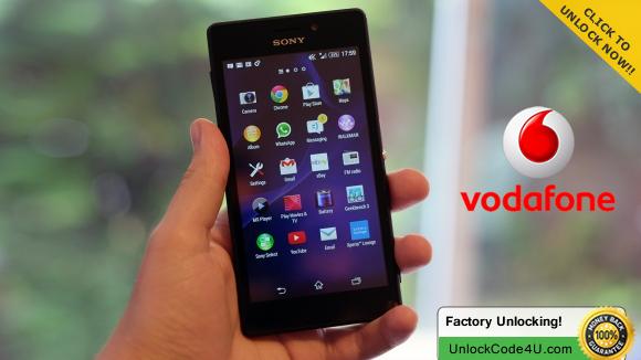 Sony Xperia M2 Aqua from Vodafone by unlock code https