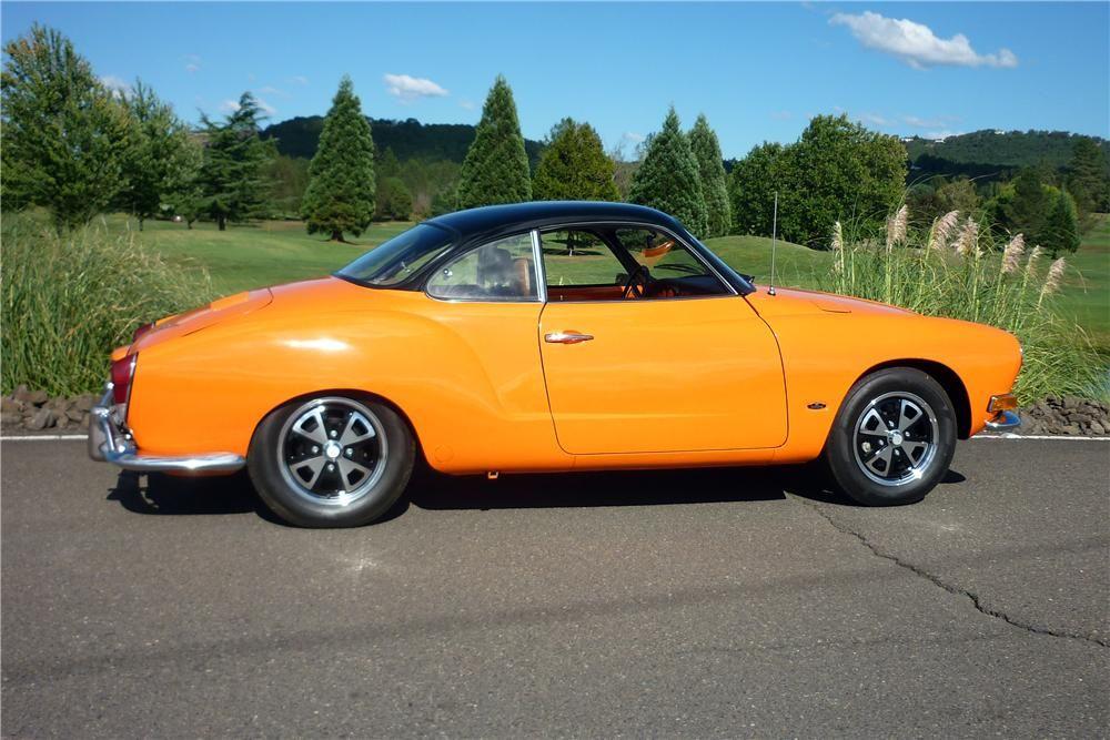 1970 VOLKSWAGEN KARMANN GHIA CUSTOM 2 DOOR COUPE  Volkswagen