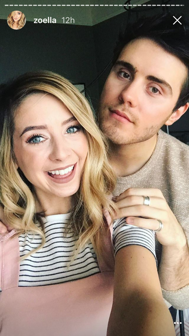 alfie and zoella start dating