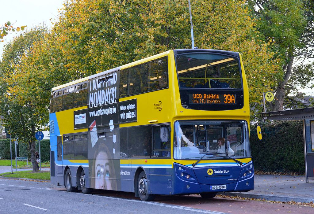Dublinbus Vt48 Buses And Trains Double Deck Bus Dublin