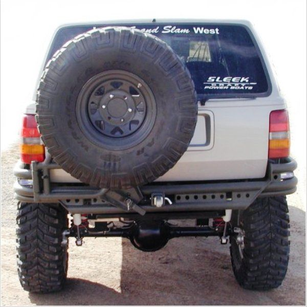 Prerunner Rear Bumper W Tire Rack Zj Wild Horses Off Road Parts
