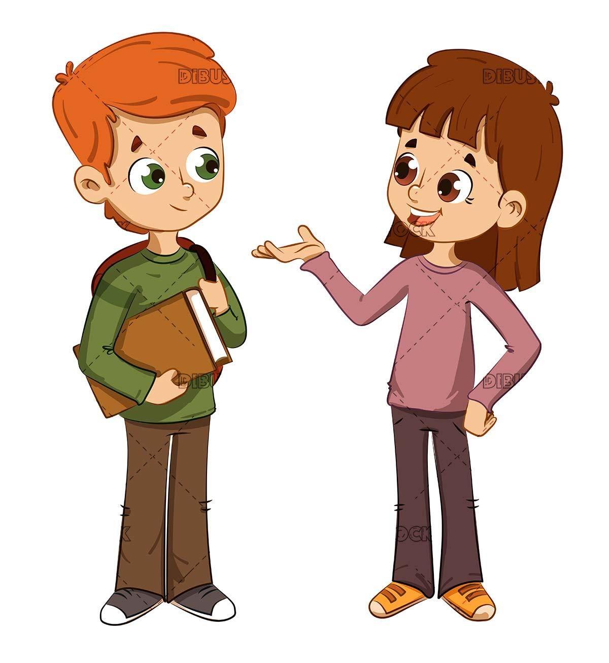 Children talking to each other | Kids talking, Children ...