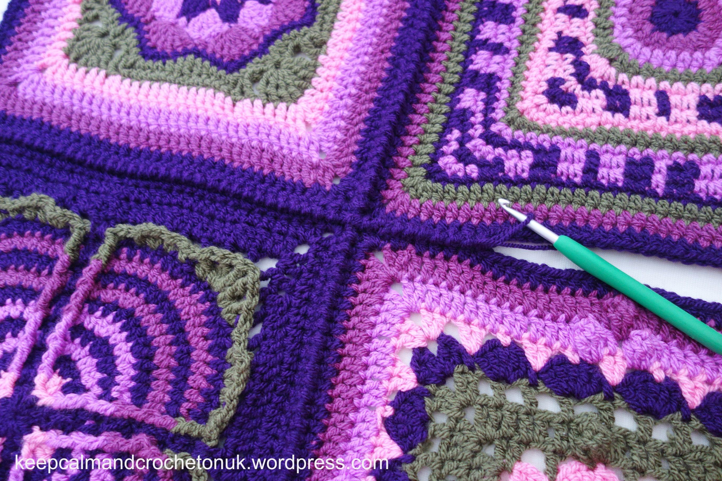 Crochet-A-long 2015 | Cobijas para bebe, Manta y Cuadro