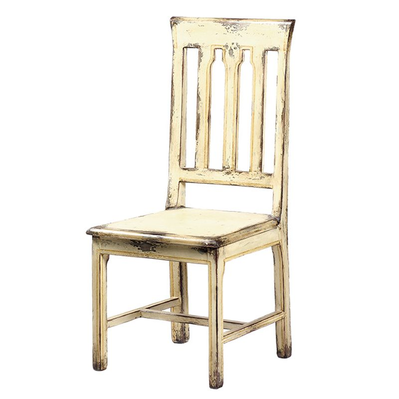 Distressed Antique White Side Chair - Distressed Antique White Side Chair Chairs, Chairs, CHAIRS