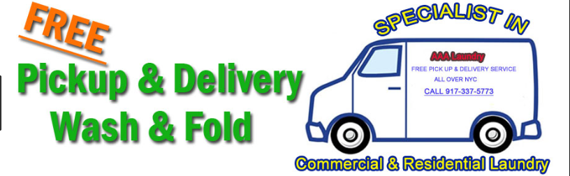 Wash and Fold with Laundry Pickup Drop Off Delivery