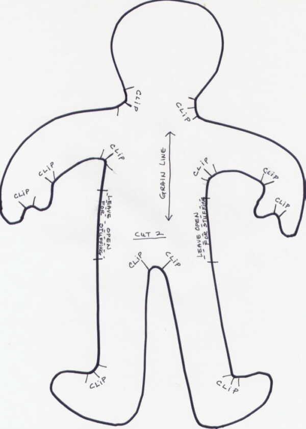 Primitive Dammit Doll Pattern | Printable dammit doll poem Wag\'s ...