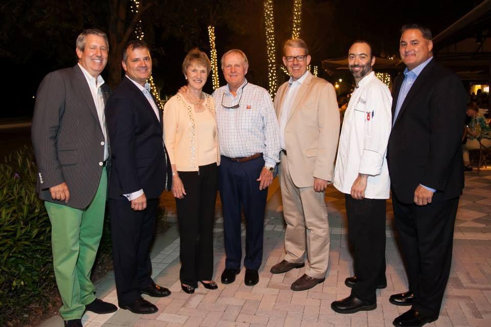 Rich Rosenthal, William Penenori, Barbara and Jack Nicklaus, Scott