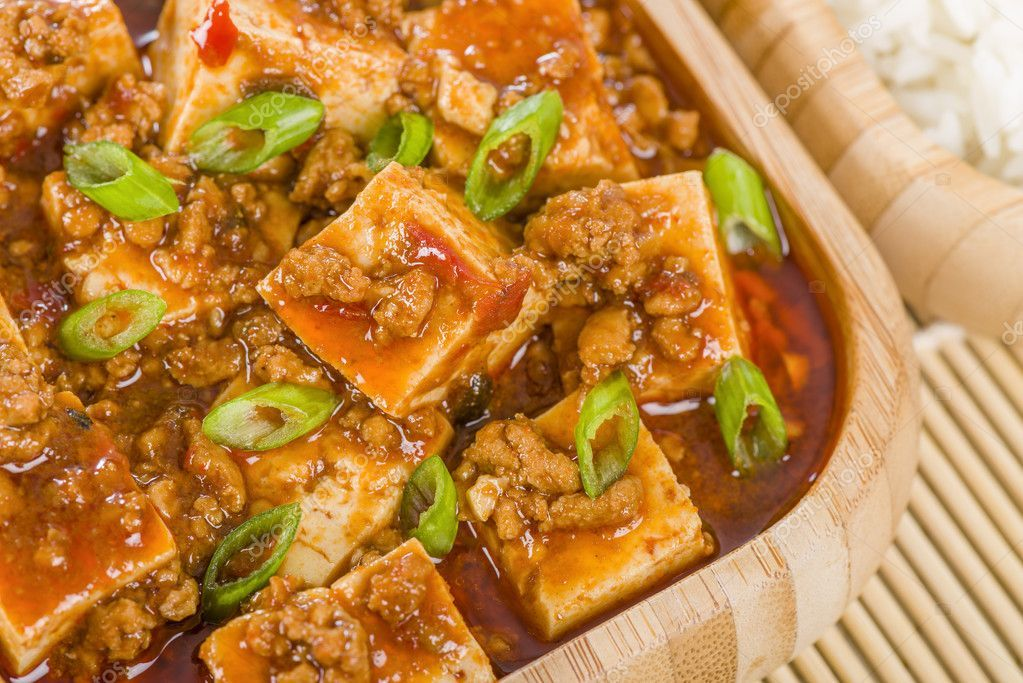 Mapo Tofu Stock Photo Sponsored Tofu Mapo Photo Stock Ad