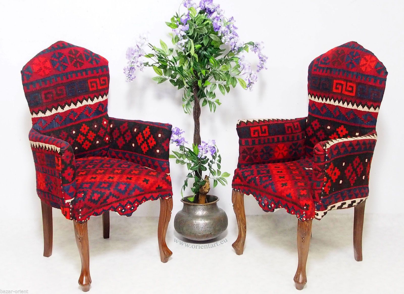 Orient Kelim Stuhl Polsterstuhl Sessel Sofa Couch Kilim Chair From  Afghanistan | EBay