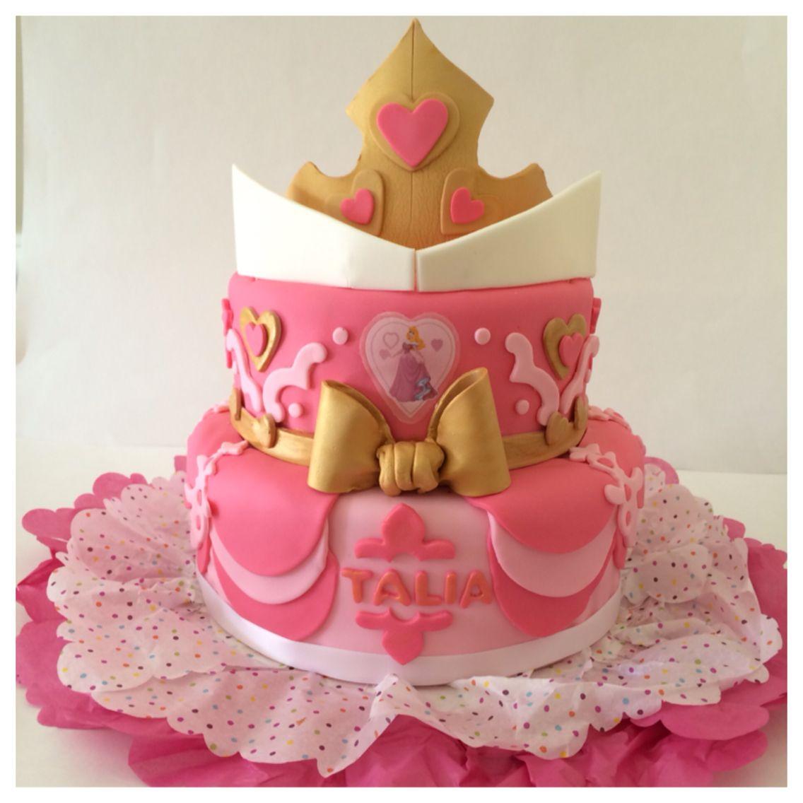 Princess Aurora Cake My Cakes Pinterest Birthday Princess