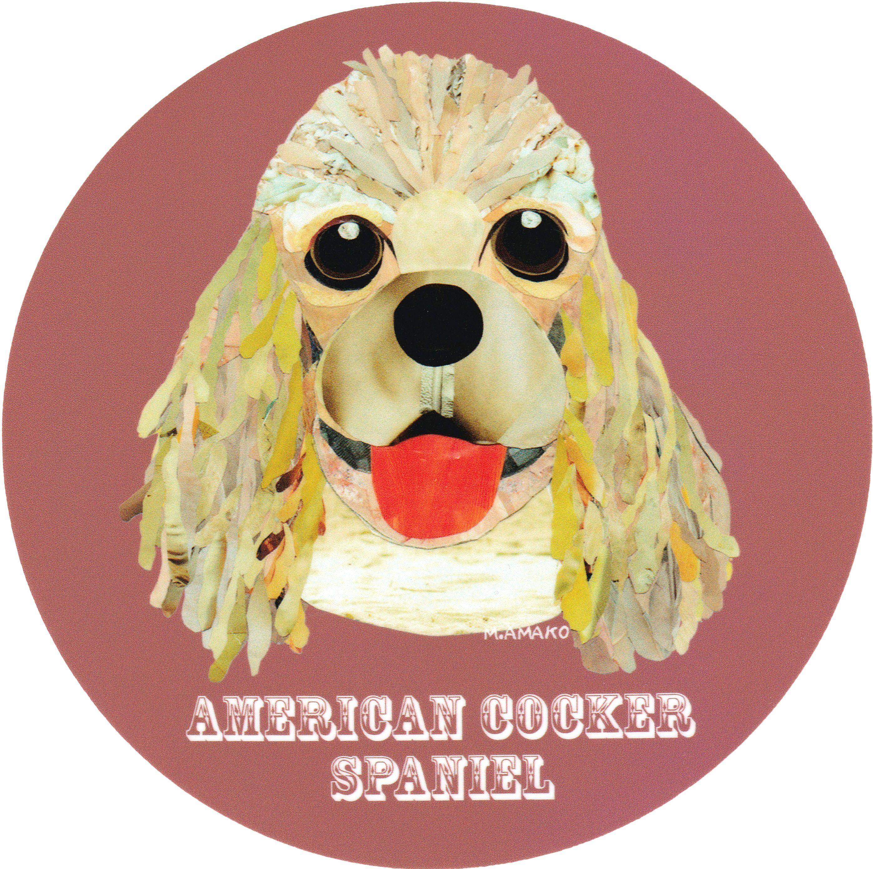 マイ @Behance プロジェクトを見る : 「004 | American Cocker Spaniel (Fawn)」 https://www.behance.net/gallery/42195701/004-American-Cocker-Spaniel-(Fawn)