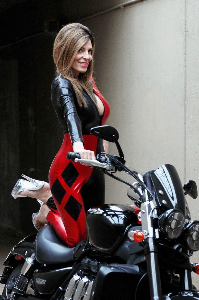Pin En Women On Motorcycles