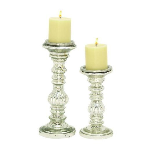 Found It At Joss Main Ingrid 2 Piece Metal Candlestick Set Wooden Candle Holders Candle Holders Glass Candle Holders