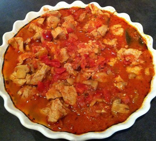 Saut de porc fa on marengo valvanille recette cuisine companion recettes thermomix ou - Cuisine 100 facons thermomix ...