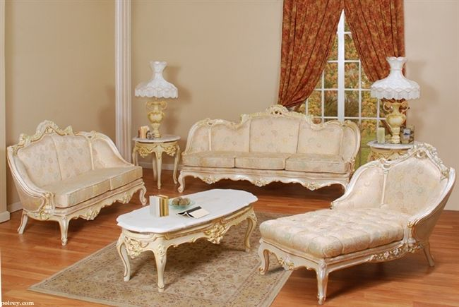 French Provincial Living Rooms Bradington Truffle Room Set Furniture 642 For The House Frenchprovincial Broadway