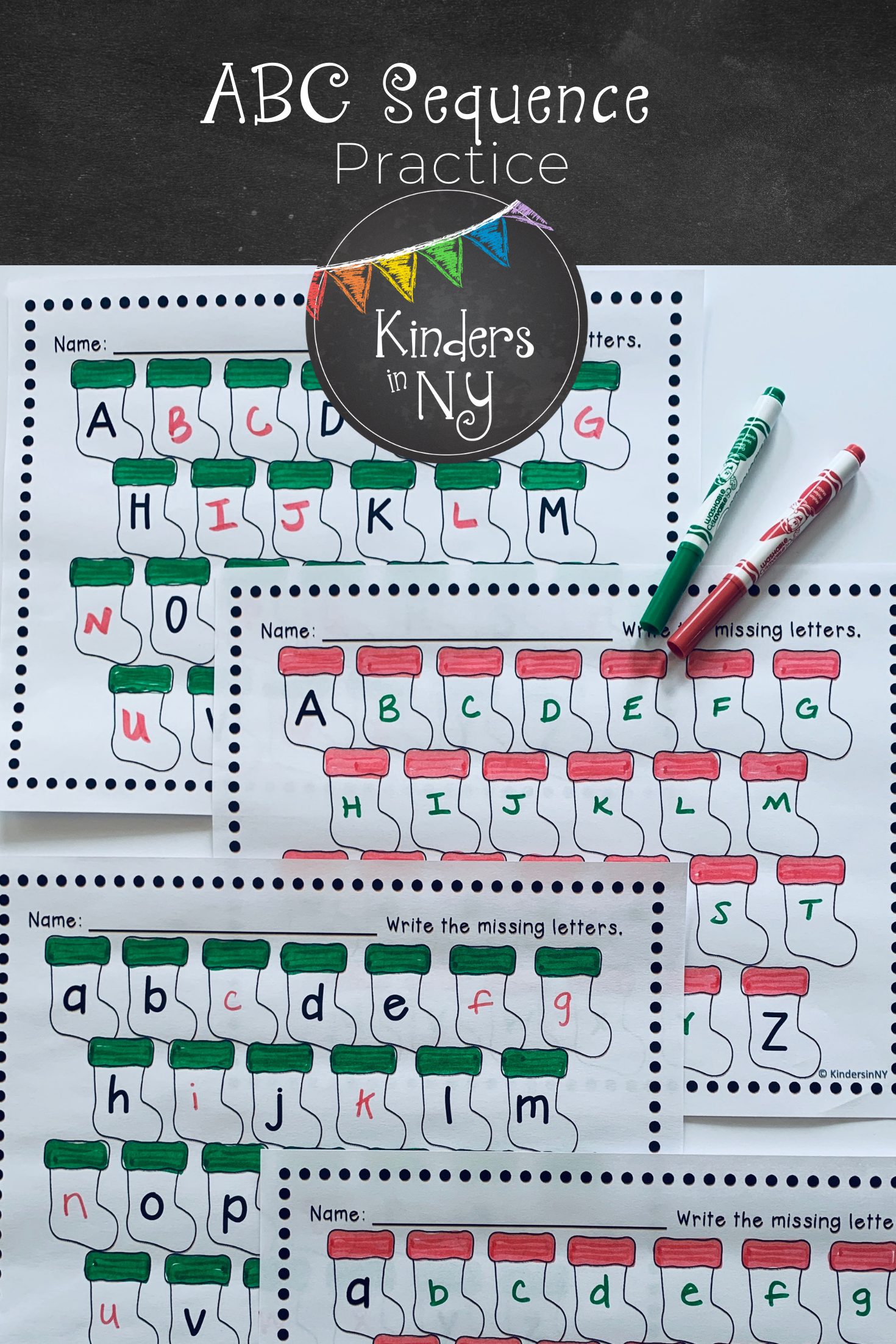 Alphabet Sequence Practice In