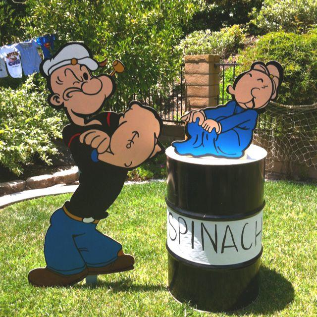Popeye & Sweetpea...It's A Boy!!! Popeye Baby Shower For