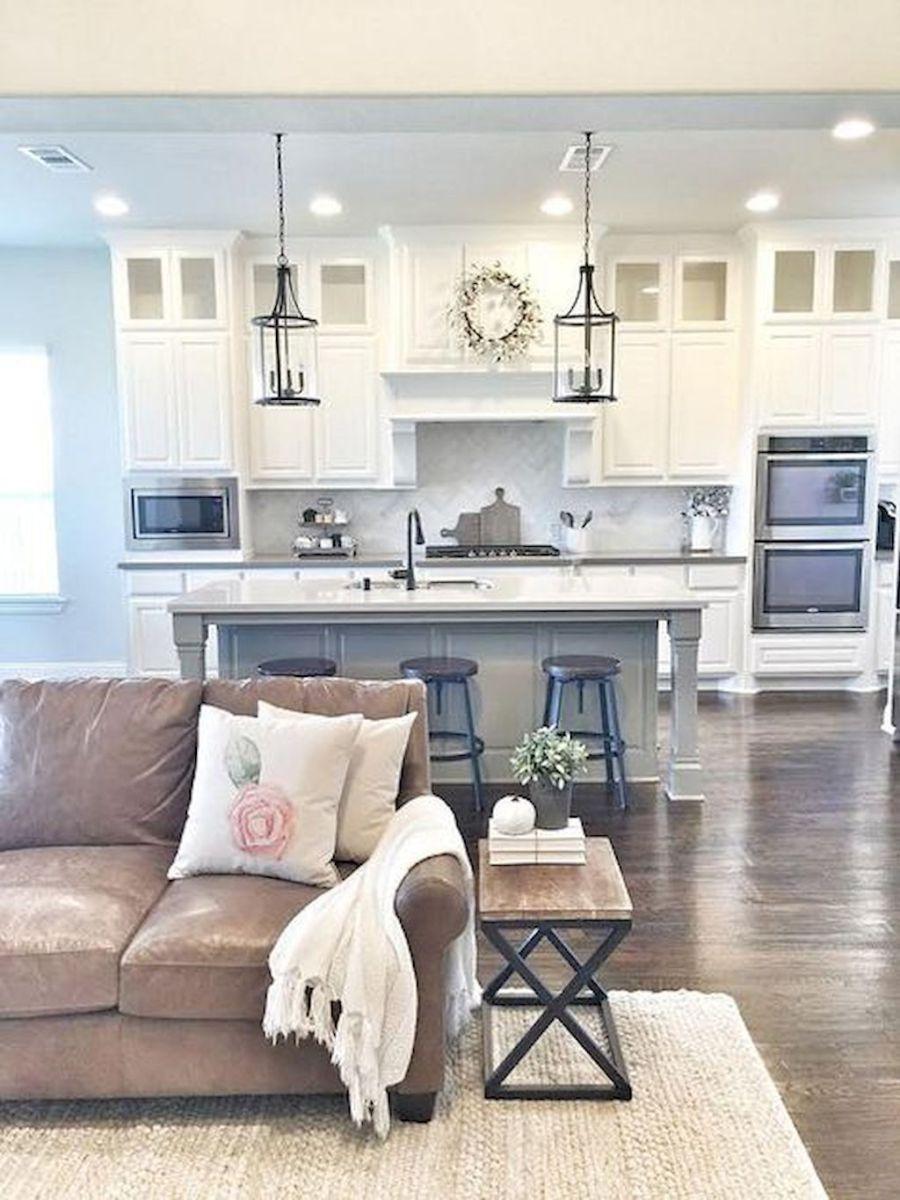 60 amazing farmhouse style living room design ideas (14 | Farmhouse ...