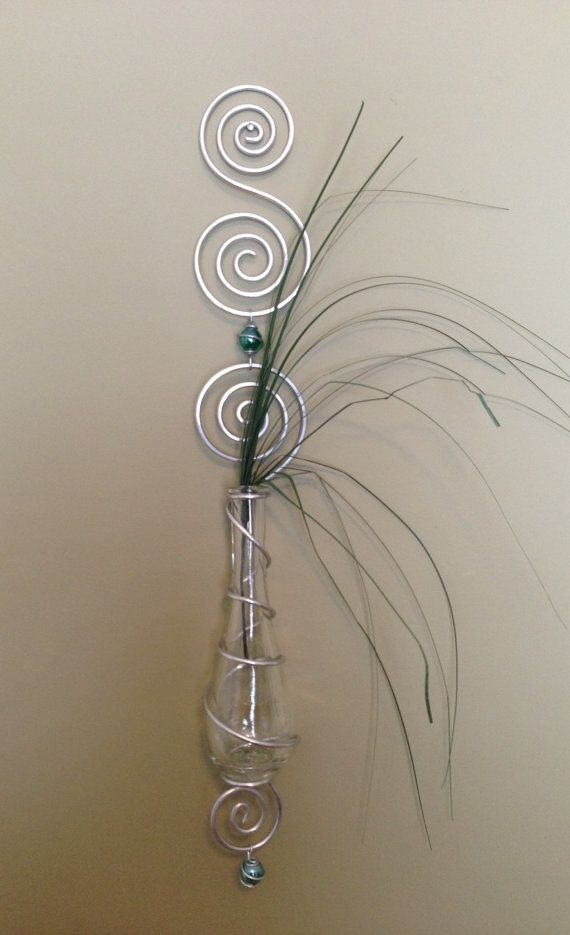 Bud vase, plant rooter, or reed difuser #DIY #wire_wrapping ...
