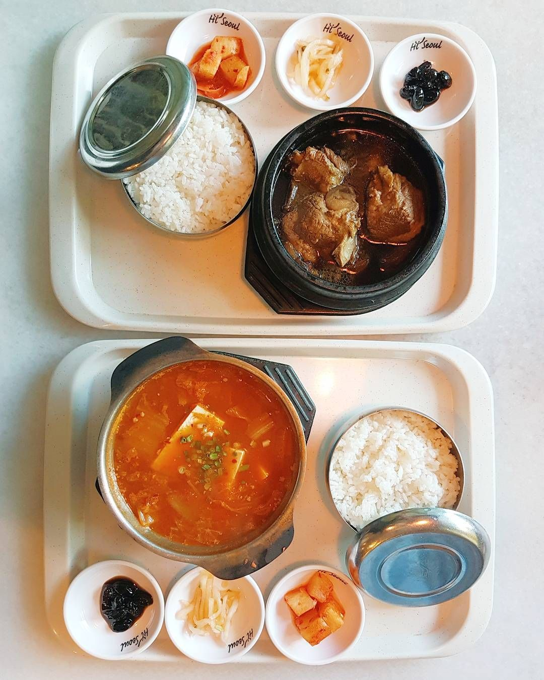 Sunday Lunch With Korean Foods At Hi Seoul Set Start From Rm10 Not The Best But Affordable Korean Foods Non Halal Food Eat Korean Food