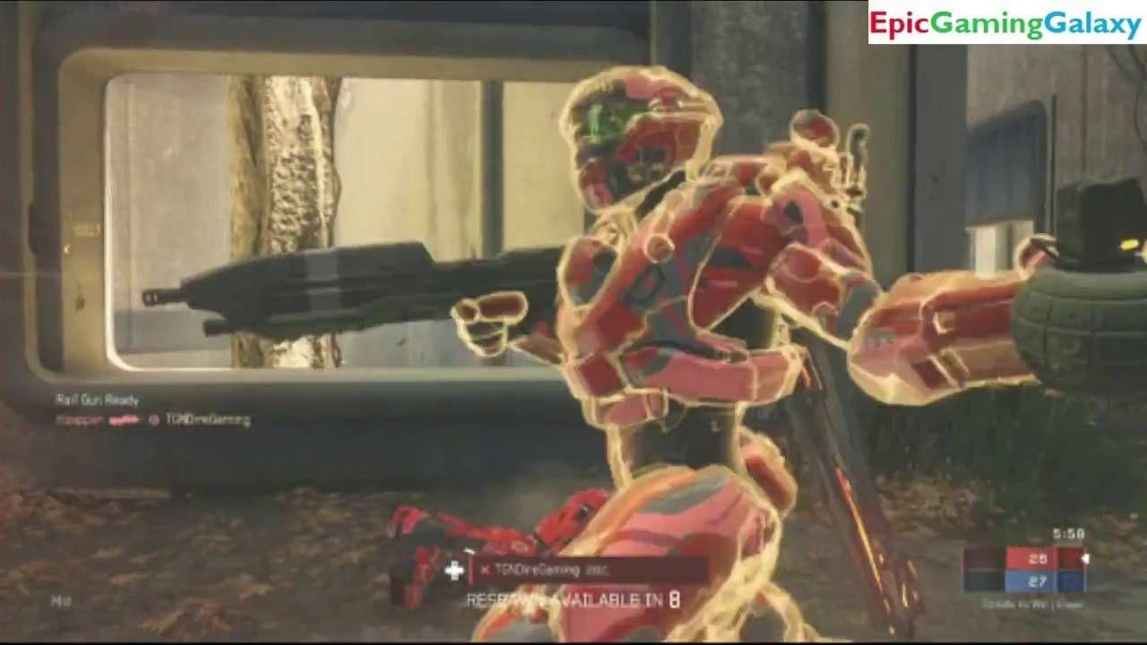 Halo 5 Guardian Xbox Live Team Slayer Match #36 On The