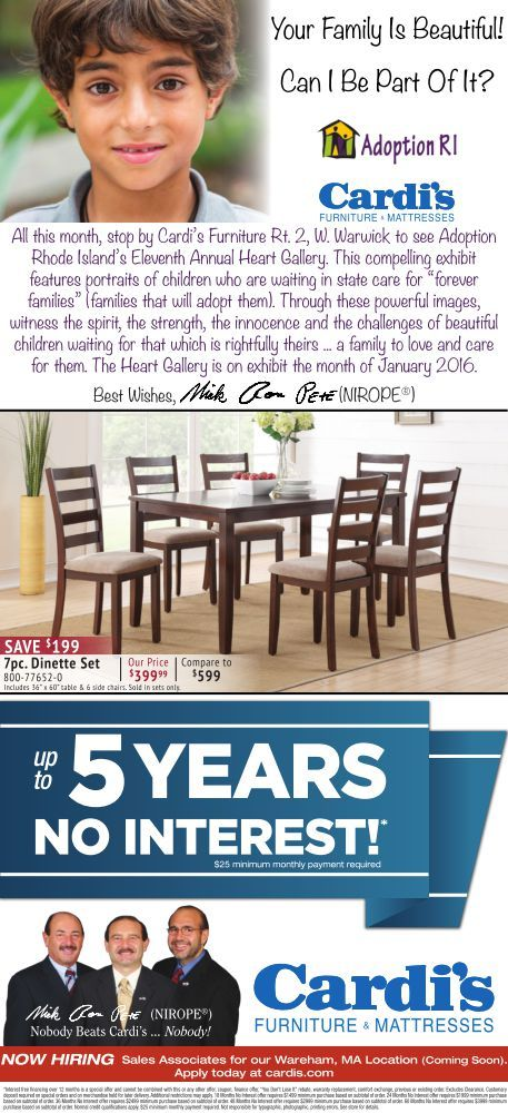 Cardis Furniture Daily Ad 1 25 2016 Please See Showroom For Full .