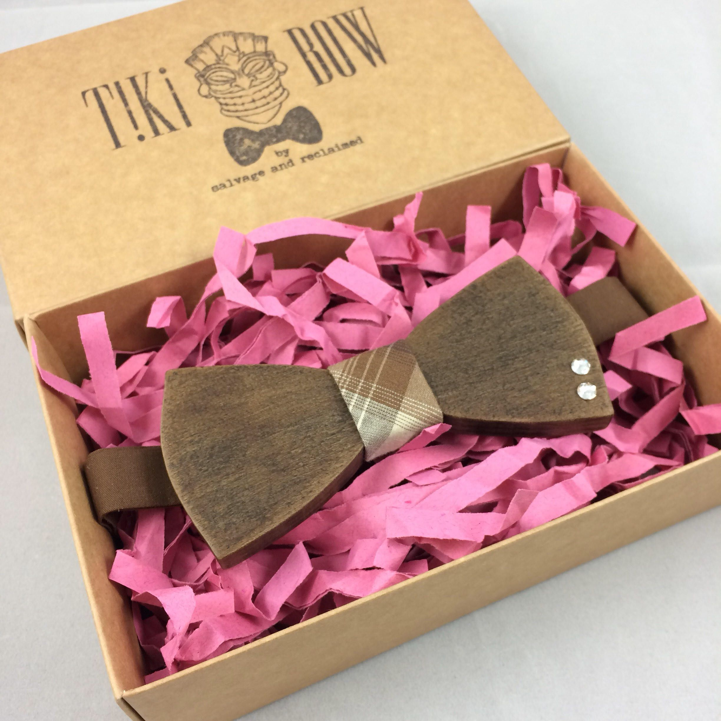 Wooden Bow Tie \
