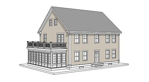 The Duxbury   Timber Frame House Plan   House Plans   Pinterest ...