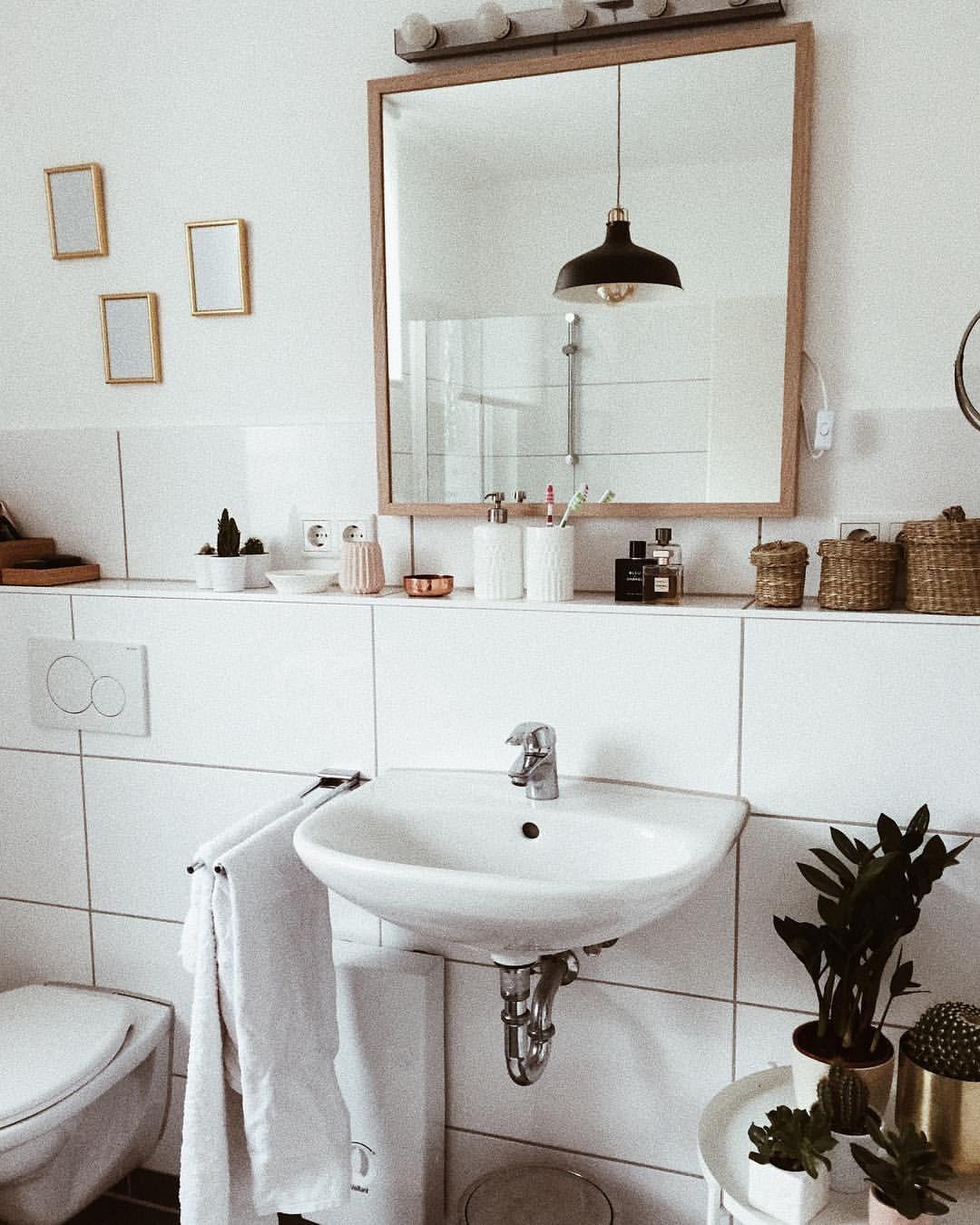 """Photo of and that's my story on Instagram: """"Bathroom ❤️ normalerweise bin ich da ja nicht so und gerade Bäder zu zeigen finde ich irgendwie nicht gar so passend, aber da sich unsere…"""""""