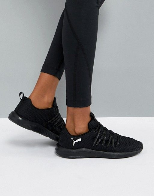 360891f5 Puma Prowl Alt Weave Training Sneakers In Black | flat shoes | Puma ...