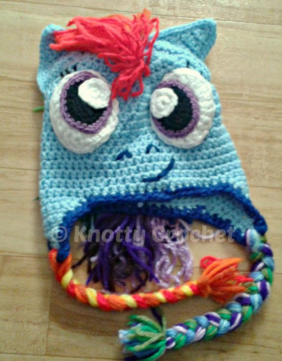 My Little Pony Rainbow Dash inspired hat- My Little Pony  f00873e8890