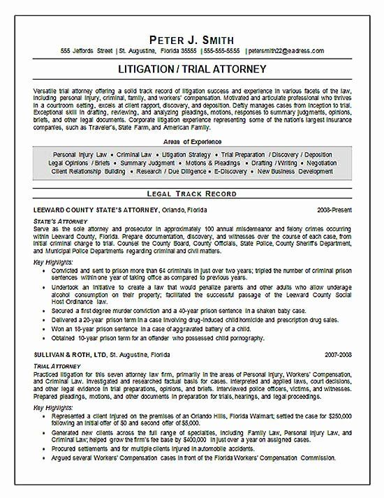 25 legal resume template word in 2020