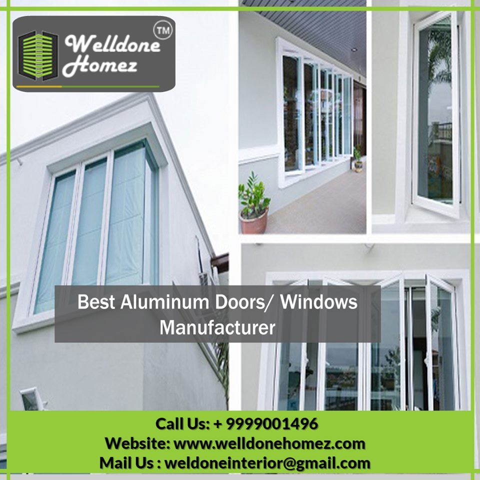 We Offer Aluminum Doors In Various Specifications By Using A