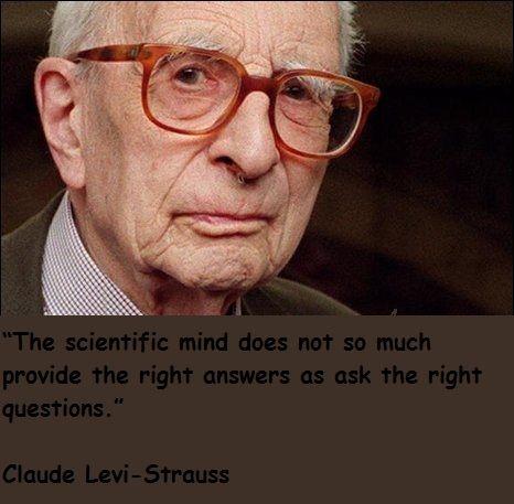 Claude Levi Strauss Quotes Haber