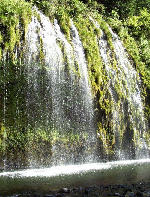 Mossbrae Falls Images of Dunsmuir, CA - Bing Images