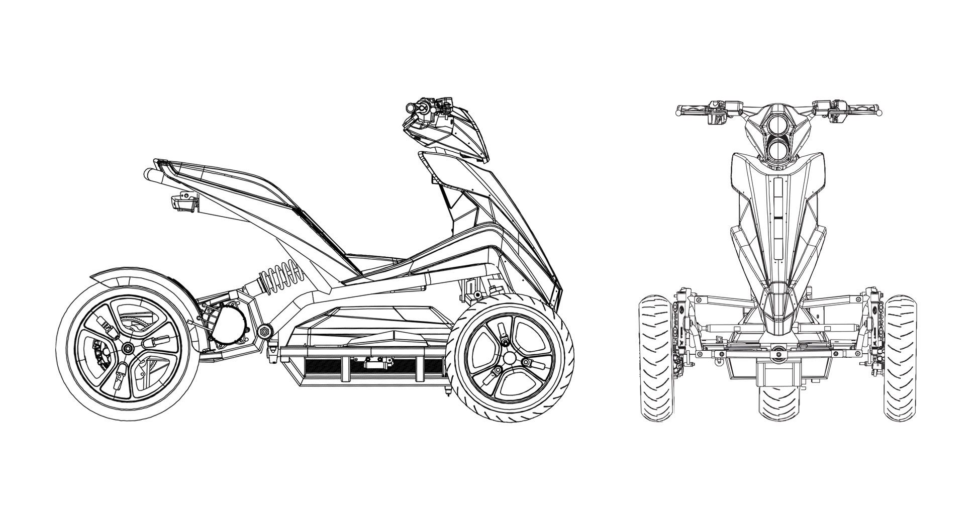 Displey Electro Van Raam Tricycle Cars And Motorcycles T
