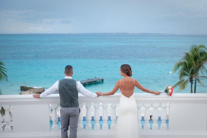 Riu Cancun Wedding Portraits